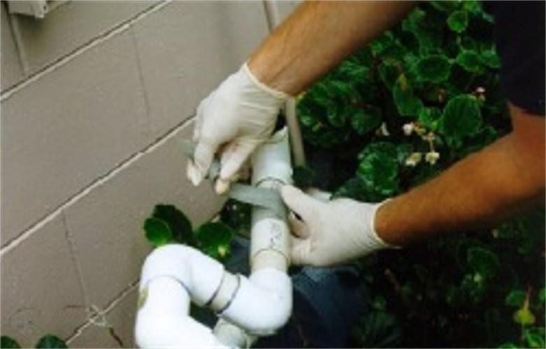 Water Activated Resin Pipe Wrap - Repair Kit