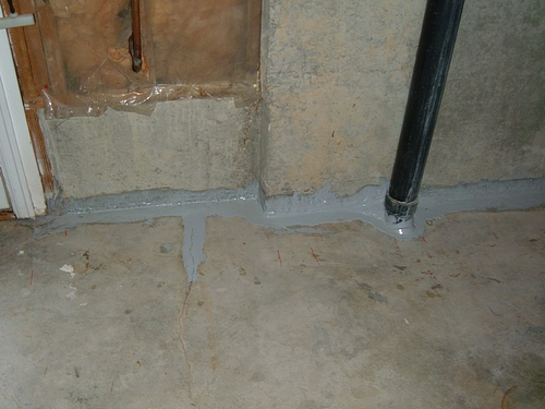 epoxy basement leak repair